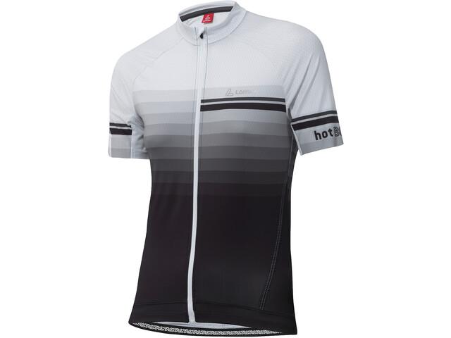 Löffler hotBOND RF Maglia Da Ciclismo Con Zip Intera Donna, black/white